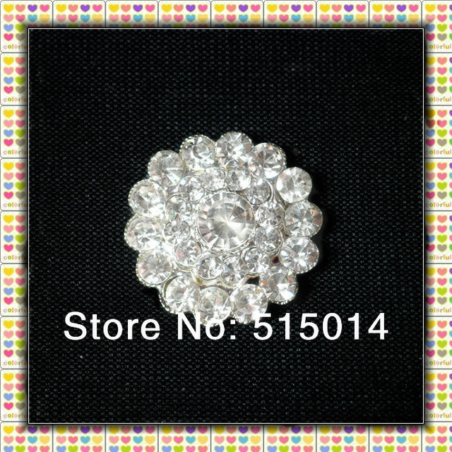 Free Shipping ! ,Rhinestone Brooch Pins With Flatback For Invitation Card .Price Negotiable for Large Order