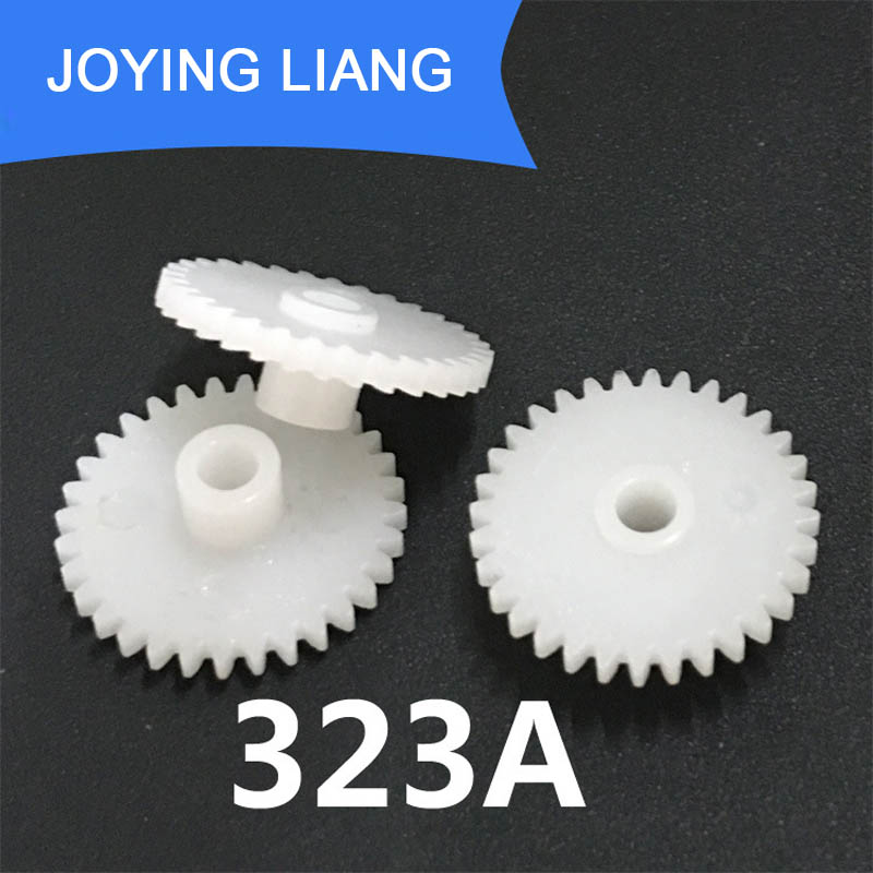 323A 0 5M 32 Teeth 3mm Shaft Tight Pom Plastic Pinion Gear Toy Model Gear 2500pcs