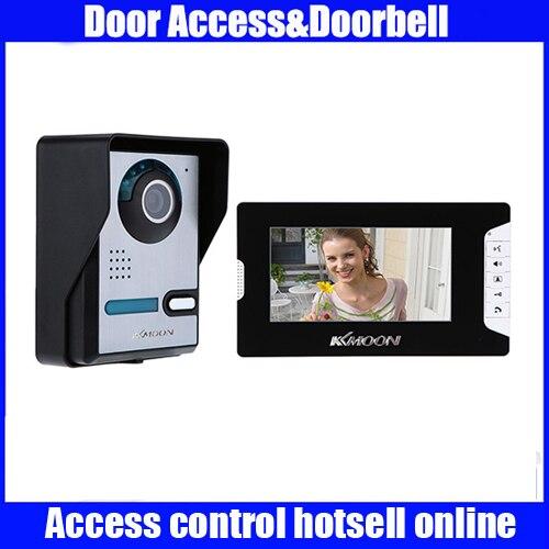 7 Video Door Phone TFT LCD Screen Unlock IR Night Vision Rainproof Home Security video door bell