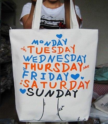 DIY BAGS blank canvas bags hot selling Cute bags canvas shopping bag totes houlder bag Beach Bag Purse Handbag