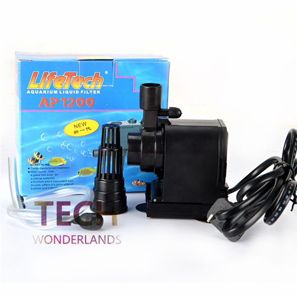 JEBO LIFETECH aquarium drie in een dompelpomp AP-1200 600L ijsmachine pomp viswaterpomp Vervang de waterpomp