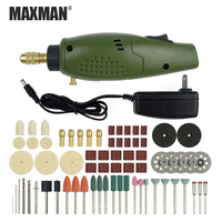 MAXMAN Professional Electric Mini Die Grinder Multi Functional DIY Tools Portable Electric Drill For Dremel Tools