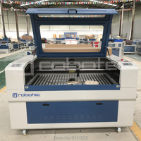 Robotec לייזר מחיר מכירה זולה קידום 80 w מכונת חיתוך לייזר mdf