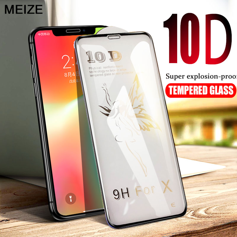 10d Erweiterte Gehärtetem Glas Für Iphone X Screen Protector Auf Die Für Iphone 6 6 S 7 8 Plus X Xs Xr Xs Max Glas Bildschirm Schutz