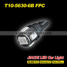 New Design 100 x T10 Clearance Light  5630 5730 6 SMD  Blue Color Led Car External Light DC12V Super Bright Light Sourcing