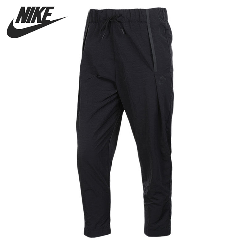 Original New Arrival NIKE AS W NSW BND PANT WOVEN Women's Pants Sportswear nike w nsw gym vtng drss ss