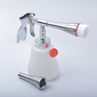 Z 010 Z 020 Aluminum Tornador Interior Deep Cleaning Gun For Cockpit Care Cars Air Opearted
