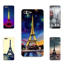 Popular Eiffel oil Painting of Paris Hard PC phone case for Huawei honor 6 6CPro 6X 6A 5 5X 5C 5A 4X 4C 4A 6Plus matte cases(China)