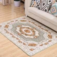 Pastoral Countryside Carpets For Living Room Brief Flower Bedroom Rugs And Coffee Table Area Rugs/Floor Mat