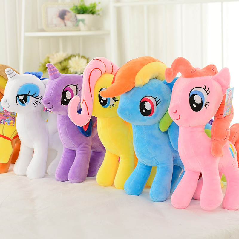 My Little Horse MLP Unicorn Stuffed Plush Toy Princess Toys Collection Friendship Is Magic Cute Birthday Gifts For Children