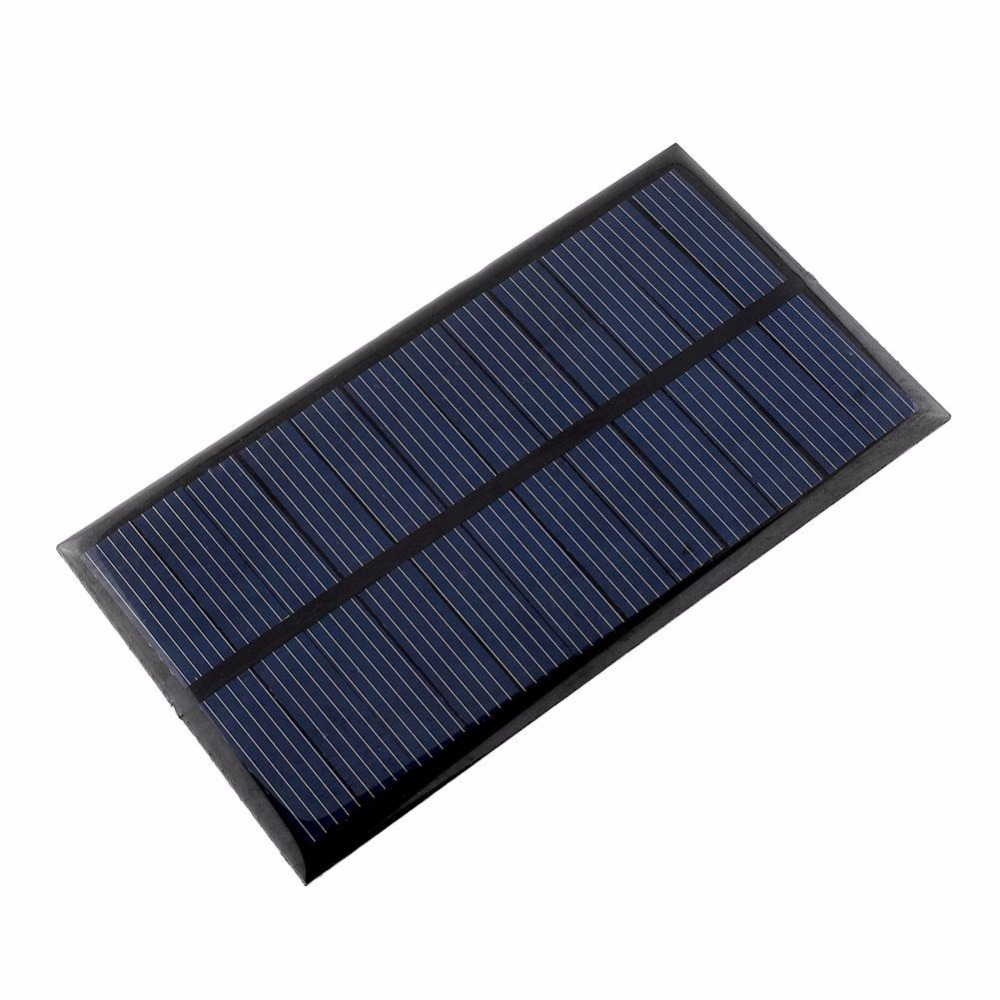 Portable Mini 6v 1w Solar Panel Bank Solar Power Panel