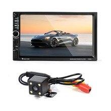 7 020 г 7 »Сенсорный экран автомагнитолы dvd MP5 видео плеер + сзади Камера Bluetooth FM GPS Navi g Ation steerin G колеса Пульт дистанционного Управления