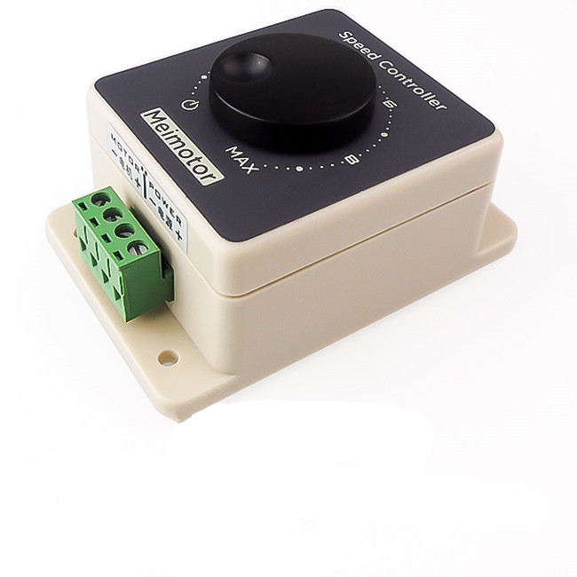 цена на PWM Regulation Waterproof DC Motor Speed Governor 12V/24V/36V/48V 20A High Power Speed Controller