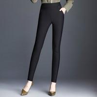 2019 new summer autumn winter office lady sexy high waist female women girls pencil pants clothes