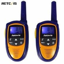 Mini Niños Walkie Talkie Para Niños Radio Retevis ROMERO RT31 0.5 W PMR446 Frecuencia VOX Portátil Práctico Radioaficionado Transceptor Hf