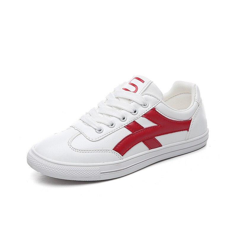2018 Chaussures Plates Blanc De rouge Noir Mode Casual Femmes Nouvelle rwqrt6C