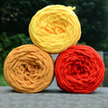 DIY Hot Soft Knitting Chunky Towelling Wool Ball Skein Scarf Yarn Pure Color Cute 100g #80465