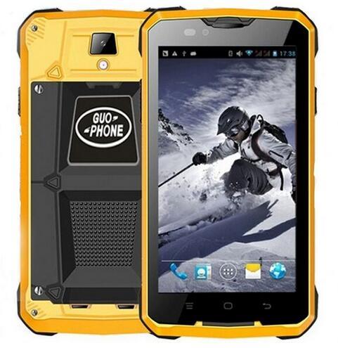 "Free Gift Guophone V12 MTK6572W Dual Core 3G Waterproof Smartphone 5.0"" IPS 512MB RAM 4GB ROM Android 4.4 5MP Dual SIm GPS WCMDA"