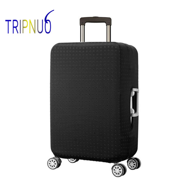 TRIPNUO Thickest Black Rivets Travel Luggage Suitcase Protective Cover, Stretch, Apply To 18-32 Inch Cases, Travel Accessorie