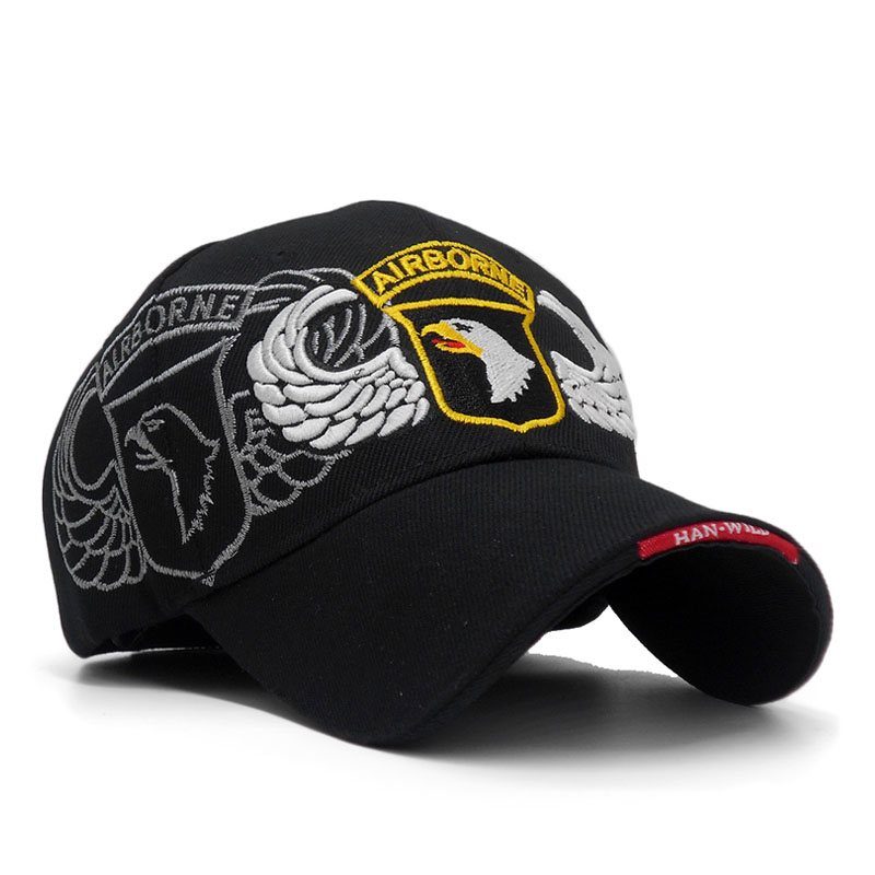 101st Airborne Division Mens Baseball Caps US Army Cap Snapback Hats AIR  FOREC Sport Tactical Cap Dad Hat 5 Panel Bone-in Baseball Caps from Apparel  ... 37d687eaf18d