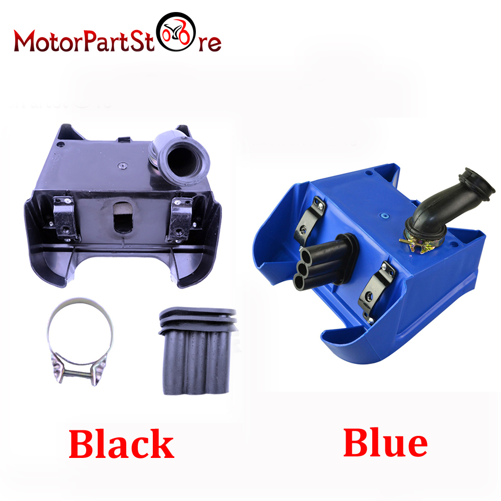 1 Pc Air Box Filter voor Yamaha PW80 PW 80 PEEWEE Crossmotor Black Blue Beschikbaar D20