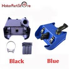 Синий и черный 1 шт. воздушный фильтр коробки для Yamaha PW80 PW 80 peewee Байк