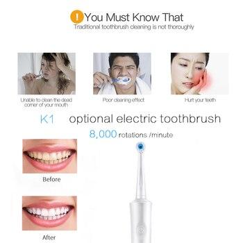 Diş Fırçası Elektrikli Diş Fırçası Ağız Hijyeni şarj Edilebilir Fırça Elektrikli Diş Fırçası Diş Bakımı Oral B Tarzı Sonic Diş Fırçası 4