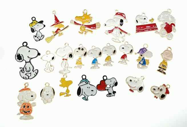New Lot 10 pcs cartoon Japanese anime cute dogs Charm earrings Pendants DIY Jewelry Making Accessories