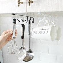 Eco-Friendly Kitchen Storage Rack Cupboard Hanging Hook Hanger Organizer Holder