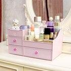 Drawer - type cosmetics collection box,plastic desktop storage drawer, make-up/skin care product storage box