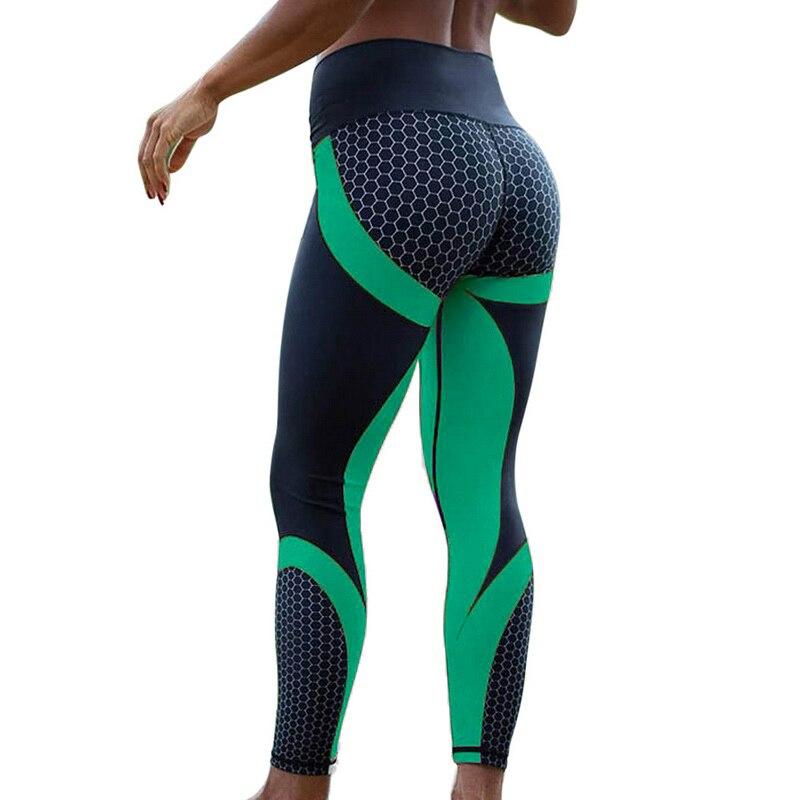 New Mesh Pattern Print Leggings Fitness Feminino Leggings For Women Sporting Workout Leggins Elastic Slim Black Purple Pants