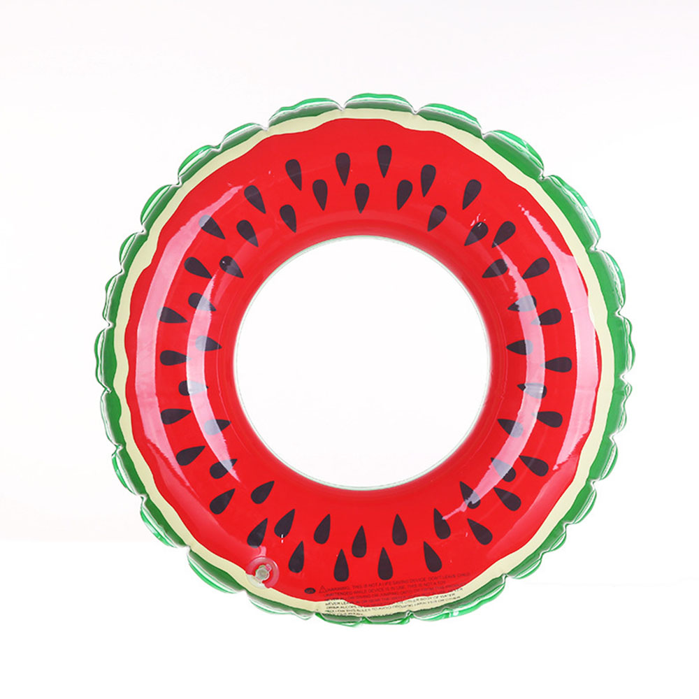 1*Baby & Kids' Inflatable Swimming Ring Pools Water Sports Water Fun Watermelon Pattern Baby Swimming Float Ring Toy