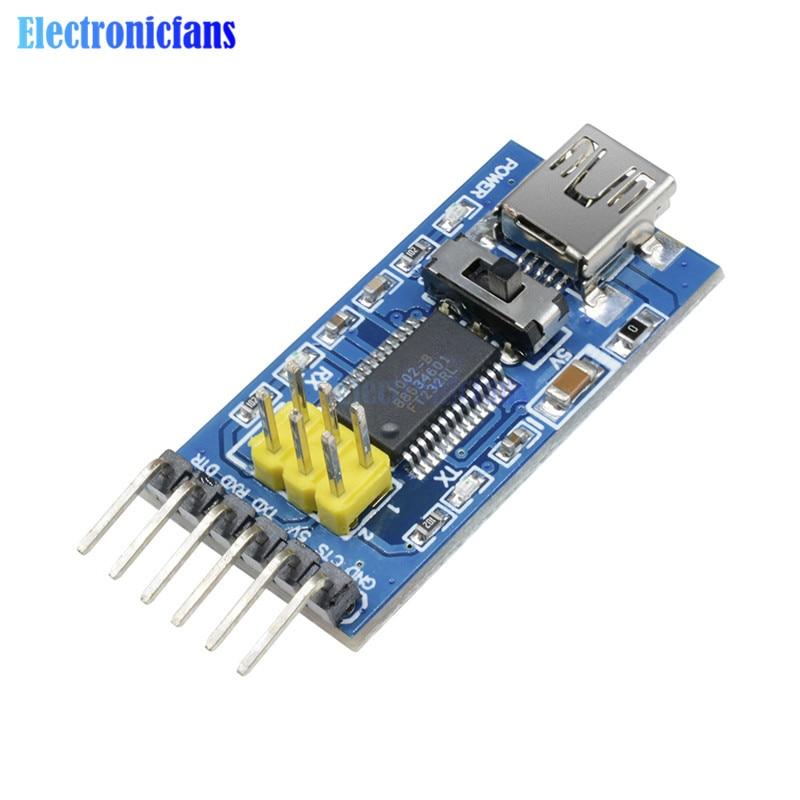2x PL2303HX USB zu TTL RS232 microcontroller Modul für Arduino