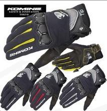 2015 summer new KOMINE GK162 3D mesh TECHNOLOGY riding glove motorcycle motorbike Moto racing gloves have