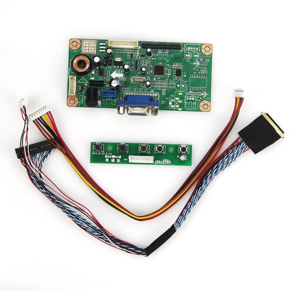 LCD/LED Controller Driver Board(VGA)  M.RT2270  For LP156WF4-SLB1 N156HGE-L11  LVDS Monitor Reuse Laptop 1920x1080