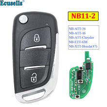 KEYDIY 2 Button Multi-functional Remote Control NB11-2 NB Se