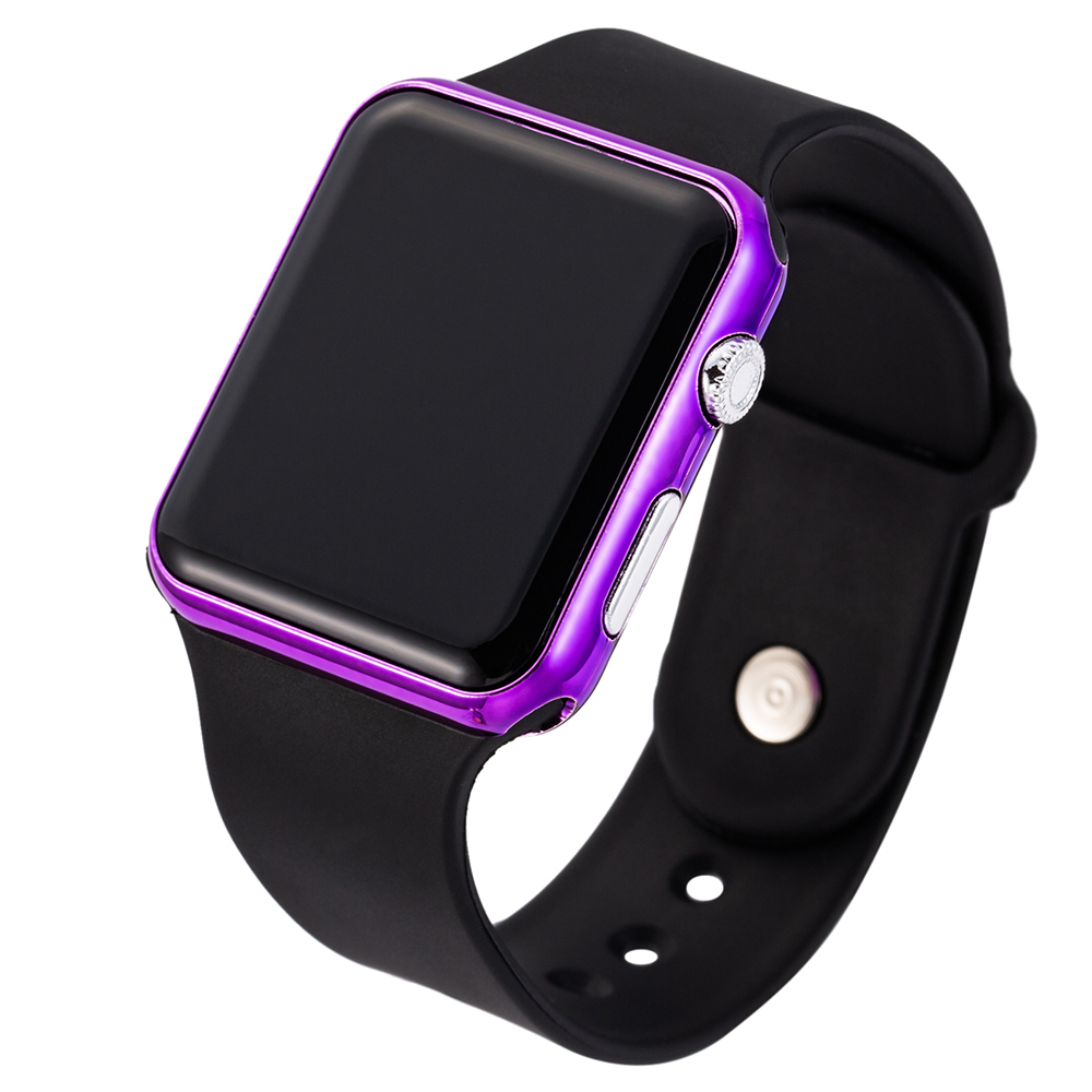 2019 New Sport Casual Watches Men Women Led Silicone Watch Pink Lovely Digital Children Sports Wristwatch Clock bayan kol saati in Children 39 s Watches from Watches