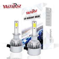YASTARSZ 2Pcs H4 LED H7 H11 H1 H3 9005 9006 Auto Car Headlight 72W 8000LM High