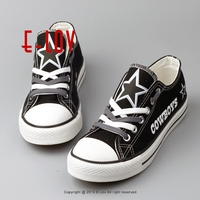 Free Shipping Dallas Cowboys USA Canvas Shoes With Star Print NFL Football Team Fans Shoes Women