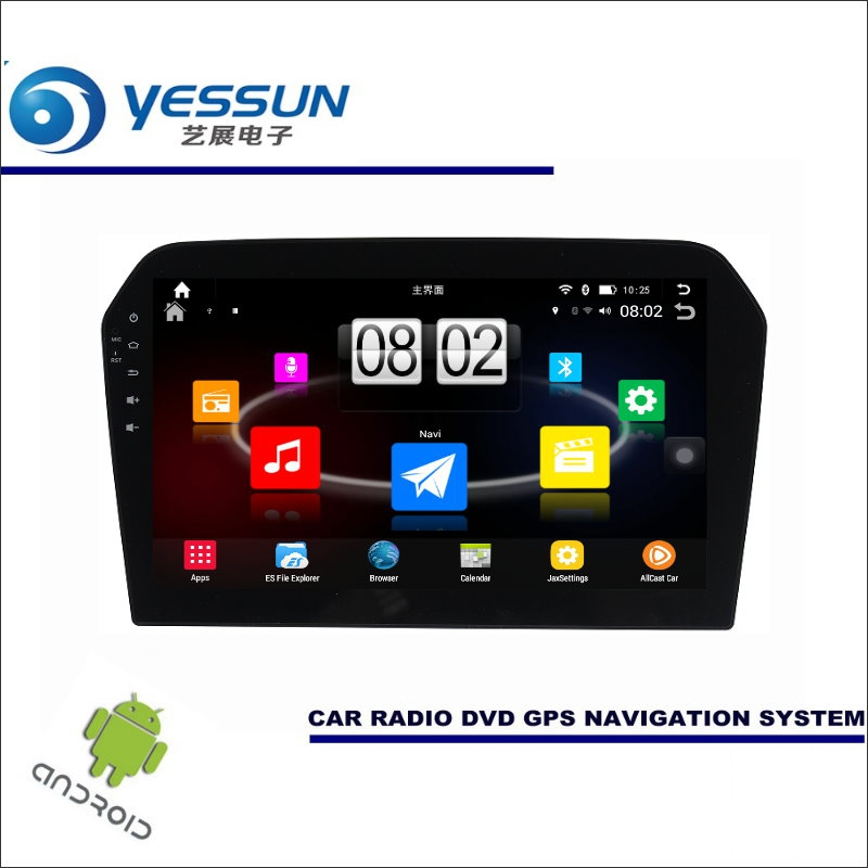 Yessun автомобиля Android мультимедийный плеер для Volkswagen VW Jetta MK6/a6 1b Радио стерео GPS nav Navi (без CD DVD) 10.1 HD Экран