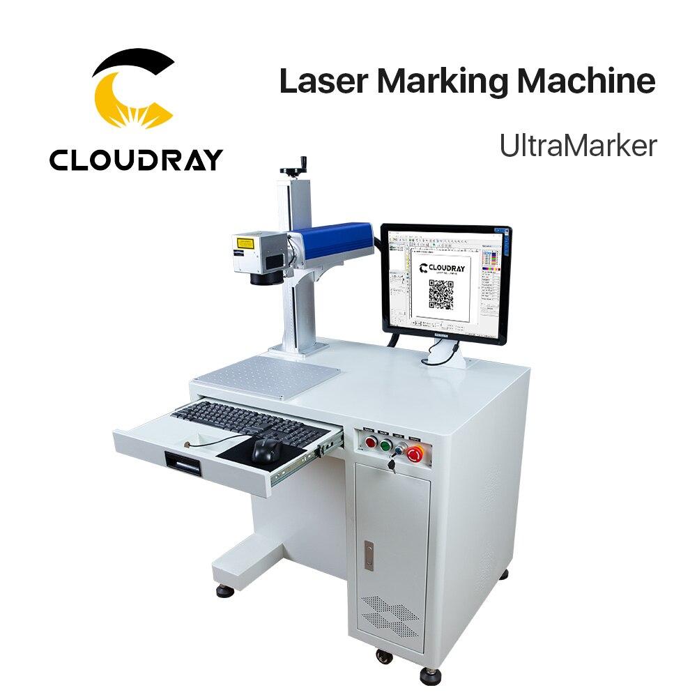 20-50W Fiber Laser Marking Machine Raycus MAX IPG For Marking Metal Stainless Steel