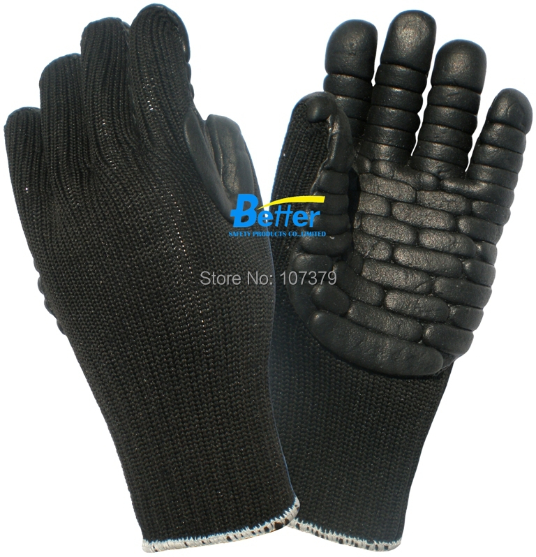 Anti Vibration Safety Glove Shock Absorbing Labor Glove Impact Resistant Work Glove anti cut safety glove hppe cut resistant work glove