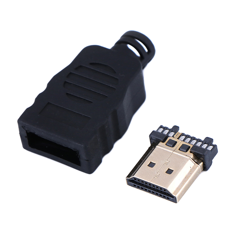 1Pc HDMI Male Connector Transfer Terminals With Box