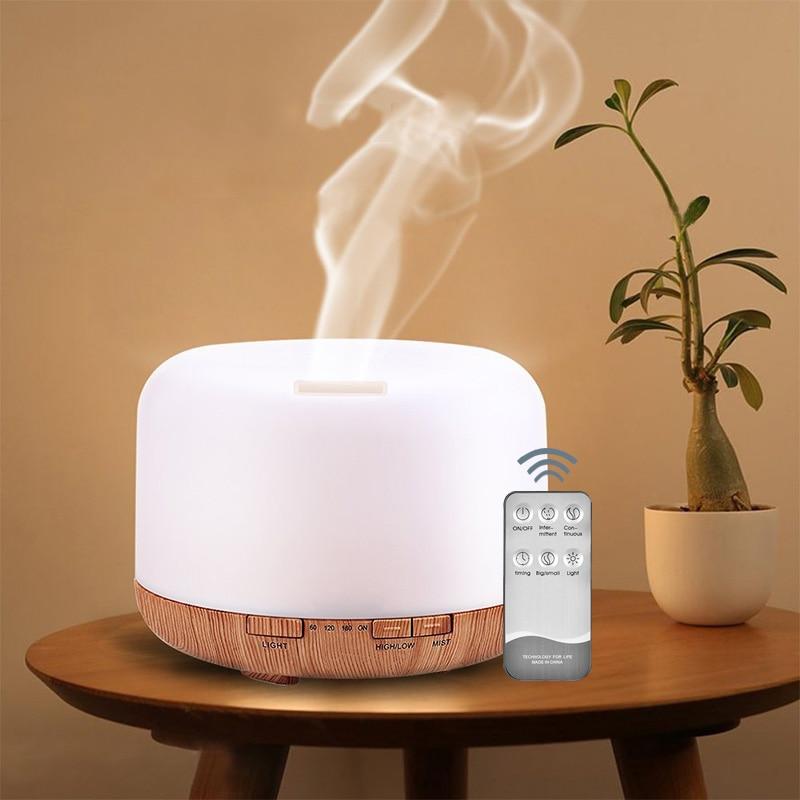 Diffuser Fogger-Mist-Maker Ultrasonic-Air-Humidifier Essential-Oil 500ml Air-Freshener