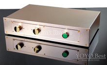 2016 Latest Music Hall Hi-End Classic Power Amplifier HiFi Stereo 2.0 Channel Amp 150W*2/4ohm_Gold Color