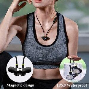 Image 4 - Mifo i8 sans fil Bluetooth 5.0 casque Sport suppression du bruit Attraction magnétique écouteur natation Hd musique écouteur en cours dexécution
