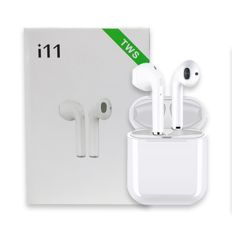i11 Original TWS Wireless Stereo Earphone Bluetooth 5.0 High Quality Support Apt-x TWS Earbuds for Android IOS iphoneXS MAX