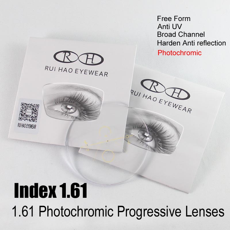 Polycarbonate Progressive Free Form Lens Replacement Service for Glasses Frame