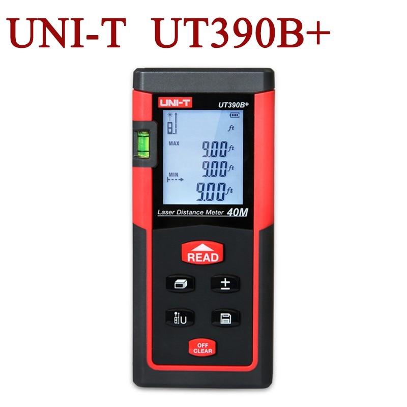 UNI-T UT390B+ Portable Laser Distance Meter 40m Range Finder ман 40 390 бу продам