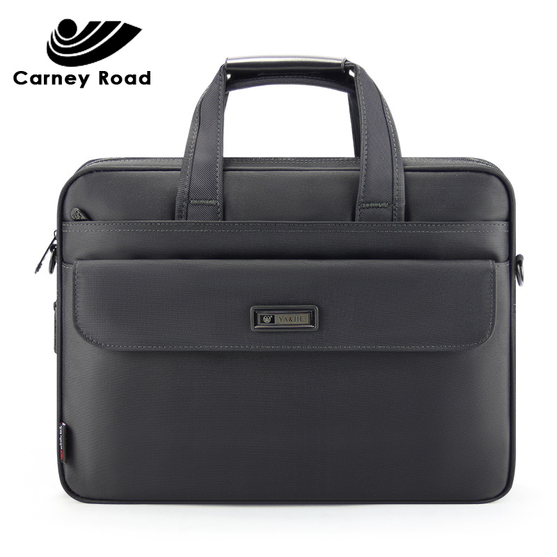 Brand Business Men Briefcase 15.6 Inch Laptop Handbag Oxford Waterproof Casual Men Bag Messenger Shoulder Bag
